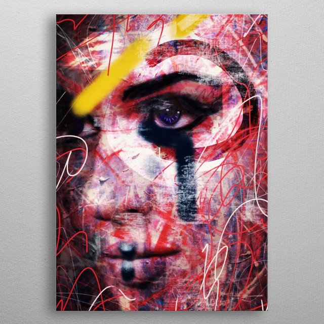 High-quality metal wall art meticulously designed by dmalta would bring extraordinary style to your room. Hang it & enjoy. metal poster