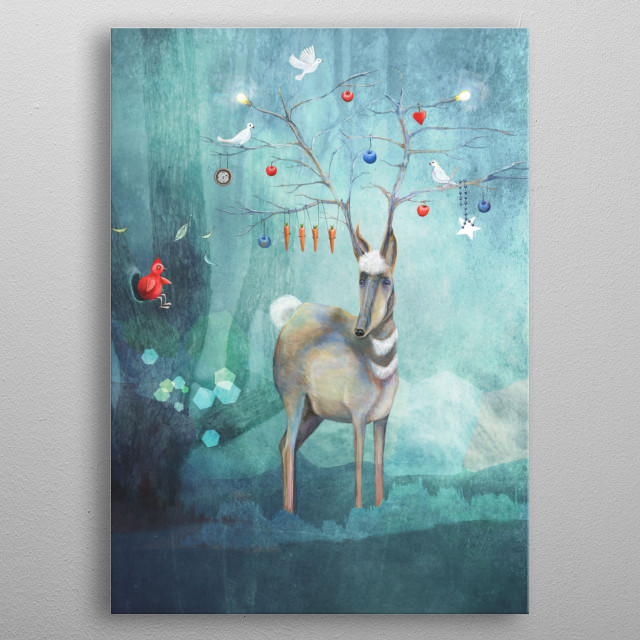 High-quality metal print from amazing Quirky Characters collection will bring unique style to your space and will show off your personality. metal poster