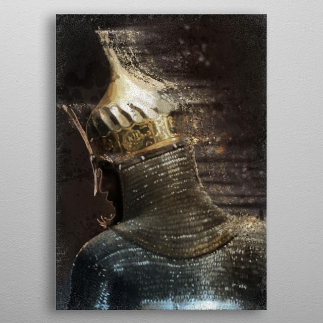 Ottoman Warrior metal poster