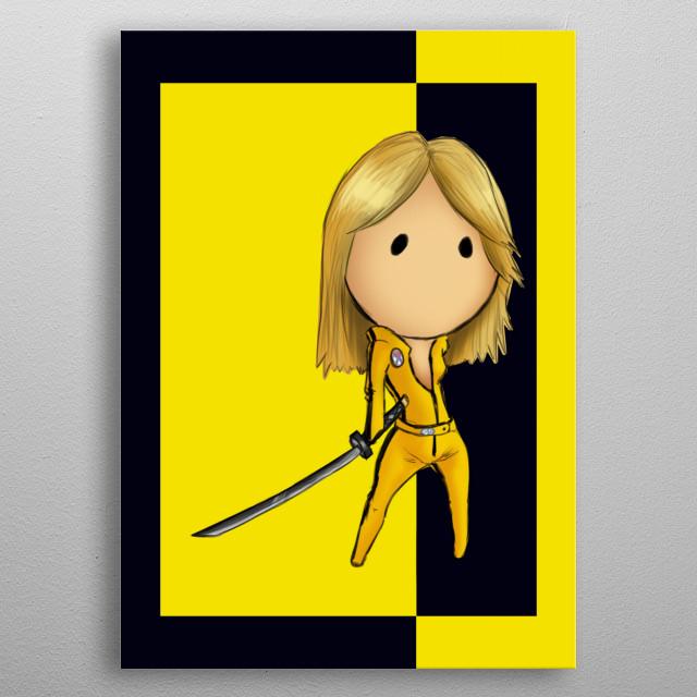 Kill Bill metal poster