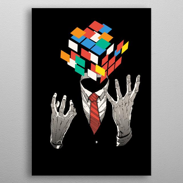 Mind game metal poster