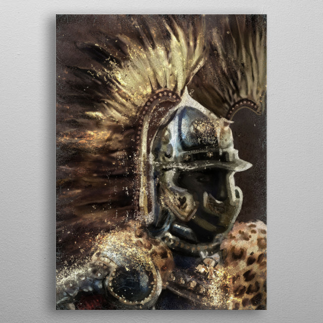 Hussar Winged metal poster