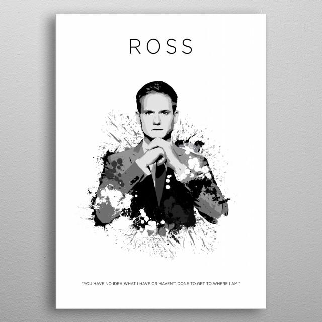 Mike Ross metal poster