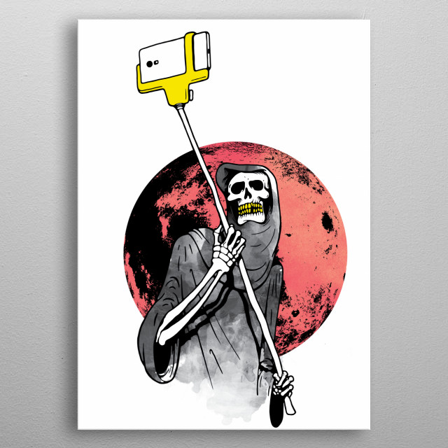 Fascinating metal poster designed by cdur carloman. Displate has a unique signature and hologram on the back to add authenticity to each design. metal poster
