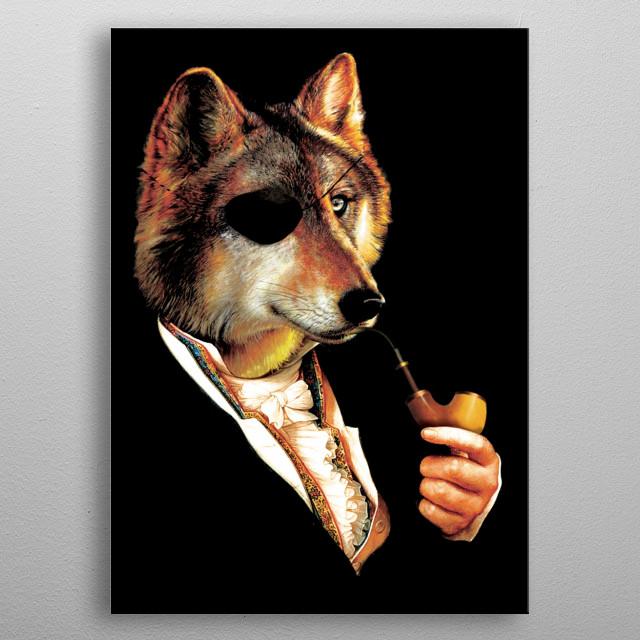 Baron Von Wolf Hatches a Plan metal poster