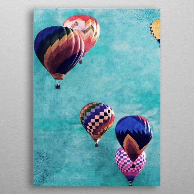 High-quality metal print from amazing Wanderlust collection will bring unique style to your space and will show off your personality. metal poster