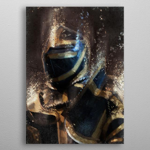 Dark Cavalier metal poster
