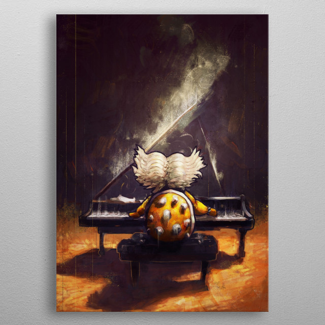 Ludwig by Ronan Lynam metal poster