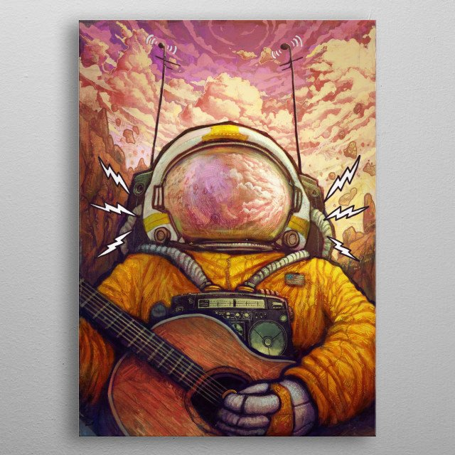 High-quality metal print from amazing All Works collection will bring unique style to your space and will show off your personality. metal poster