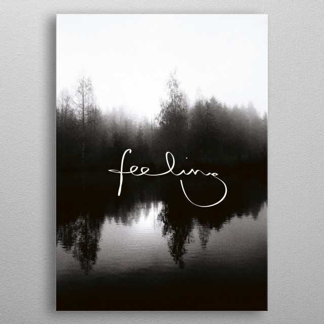 Fascinating  metal poster designed with love by juliaaufschnaiter. Decorate your space with this design & find daily inspiration in it. metal poster
