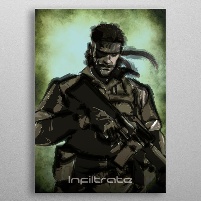 Infiltrate metal poster