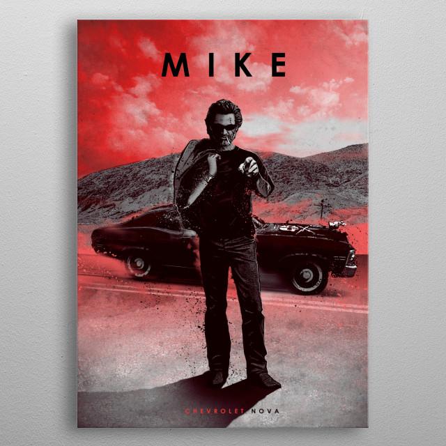 Mike metal poster