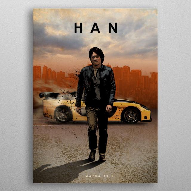 Han metal poster