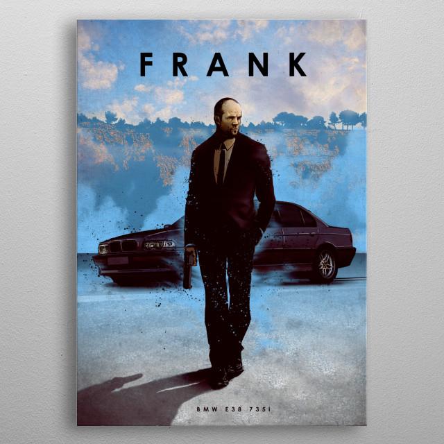 Frank metal poster