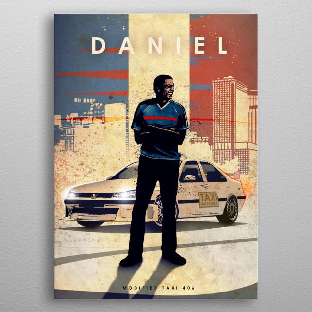 Daniel metal poster