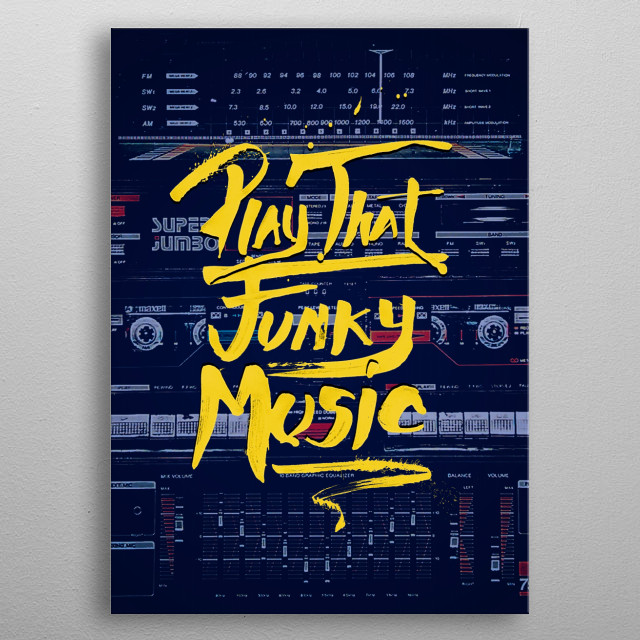 play that funky music metal poster