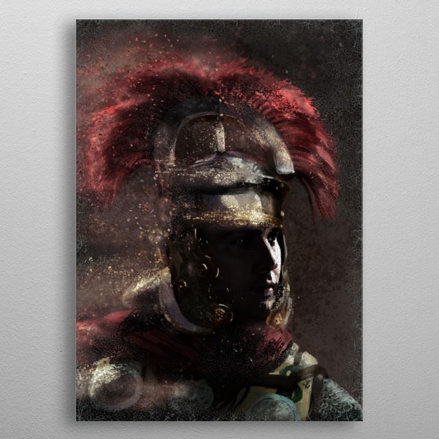 Roman Centurion metal poster
