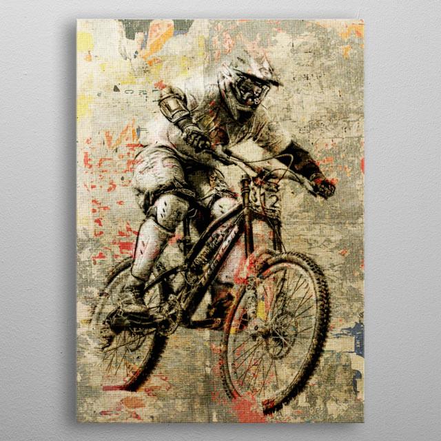 Extreme Biker metal poster