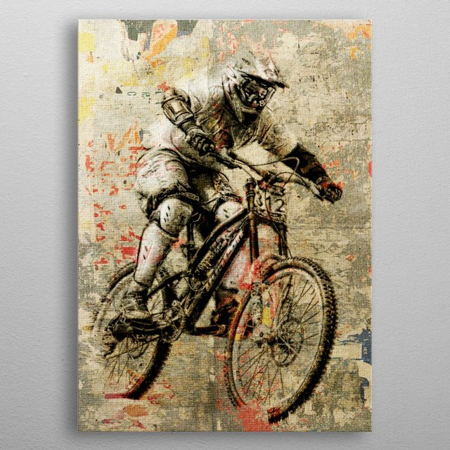 High-quality metal wall art meticulously designed by fernandovieira would bring extraordinary style to your room. Hang it & enjoy. metal poster