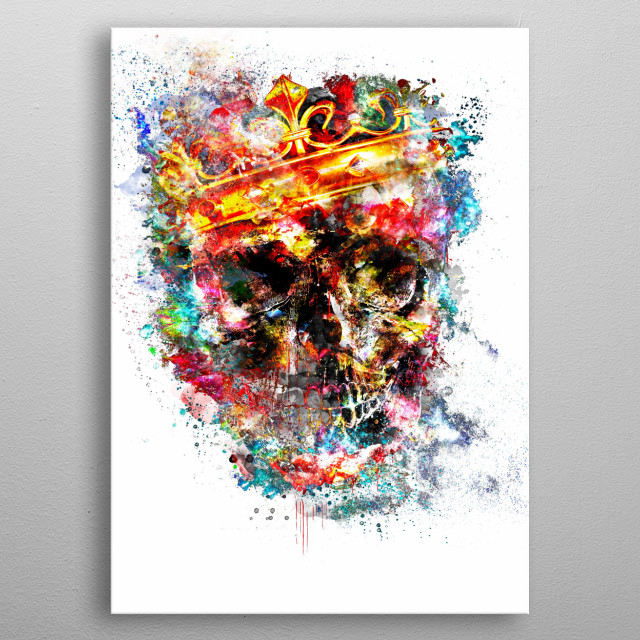 King Dusty metal poster