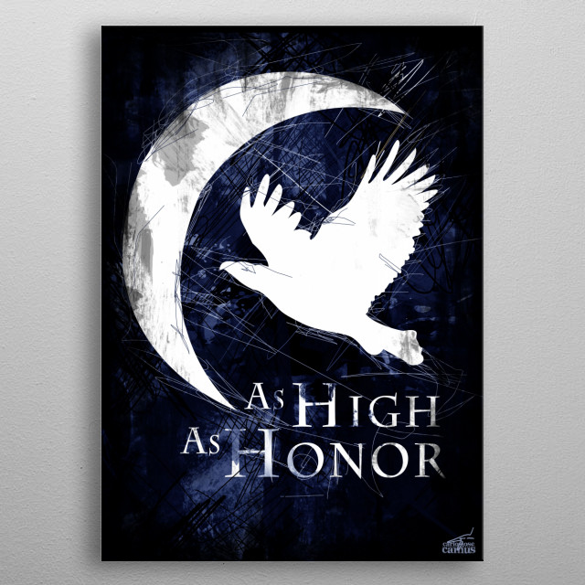 Game of Thrones - House Arryn metal poster