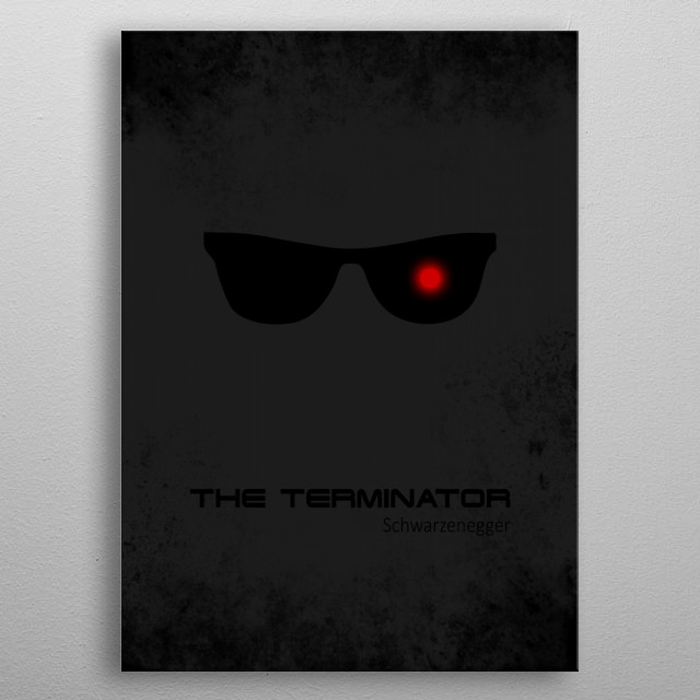 High-quality metal print from amazing Minimal Movie Poster collection will bring unique style to your space and will show off your personality. metal poster