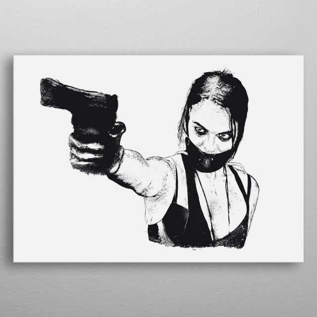 Brooke . Wyrmwood - An Aussie Independant Zombie Film ! metal poster