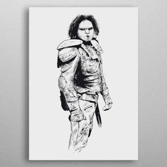 High-quality metal print from amazing Wyrmwood collection will bring unique style to your space and will show off your personality. metal poster