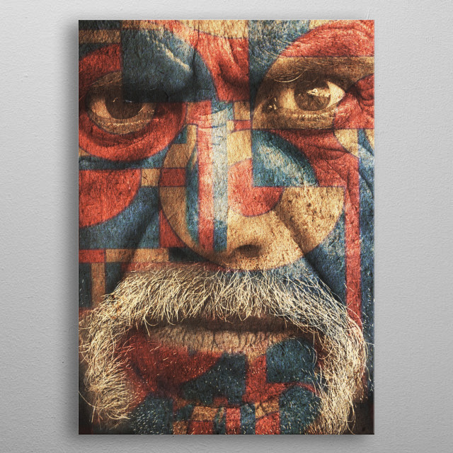 This marvelous metal poster designed by fernandovieira to add authenticity to your place. Display your passion to the whole world. metal poster