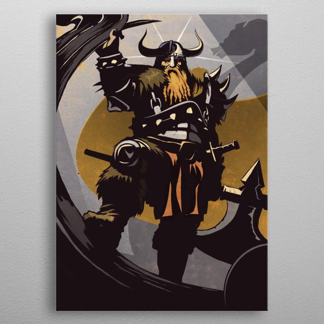 The Viking metal poster