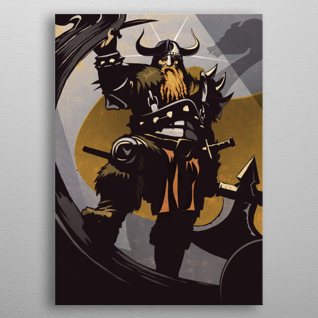 High-quality metal print from amazing Warriors Of The Ages collection will bring unique style to your space and will show off your personality. metal poster