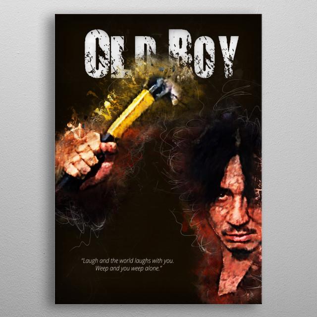 Oldboy - alternative art poster metal poster