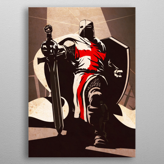 Fascinating metal poster designed by Eden Design. Displate has a unique signature and hologram on the back to add authenticity to each design. metal poster
