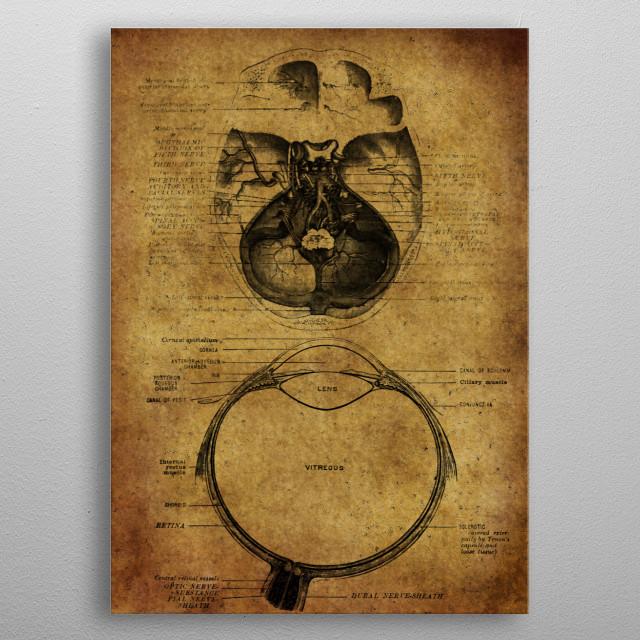 Antomic 2 metal poster