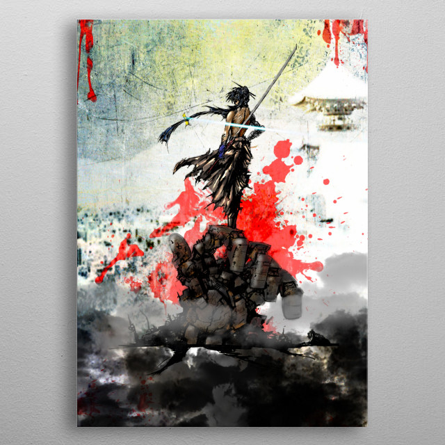This marvelous metal poster designed by astrike to add authenticity to your place. Display your passion to the whole world. metal poster