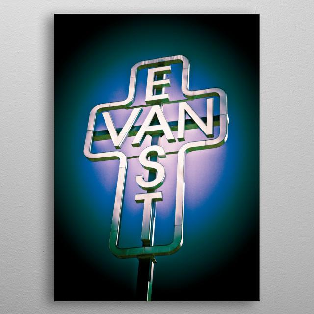 East Van metal poster