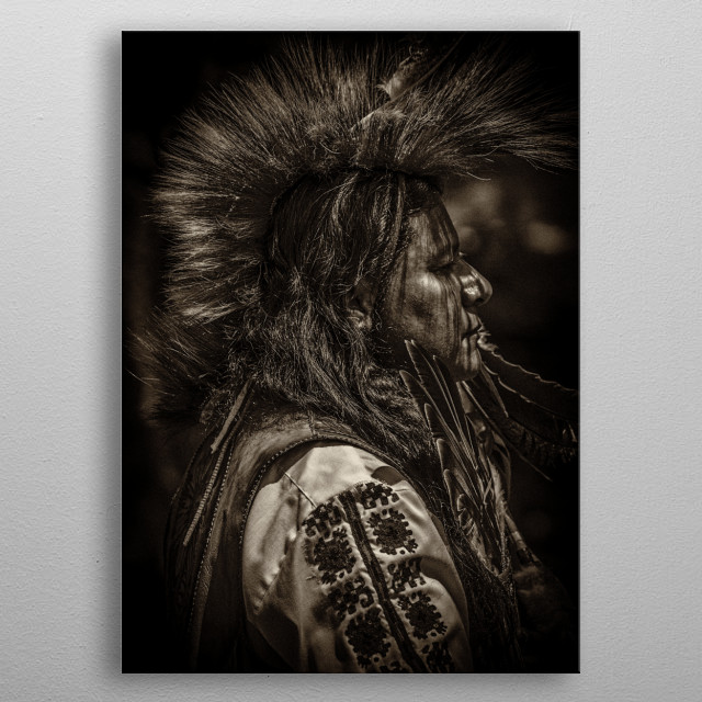 The Chief metal poster