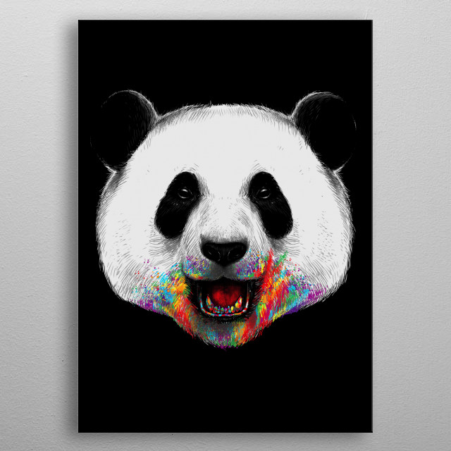 High-quality metal print from amazing Illustration collection will bring unique style to your space and will show off your personality. metal poster