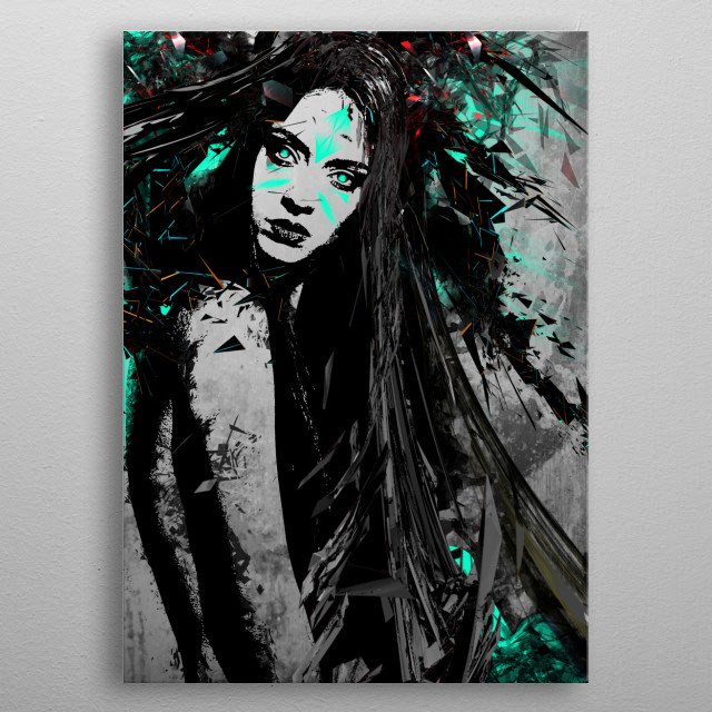 Wild One metal poster