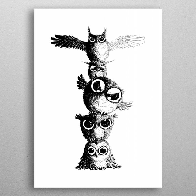 High-quality metal print from amazing Animal collection will bring unique style to your space and will show off your personality. metal poster