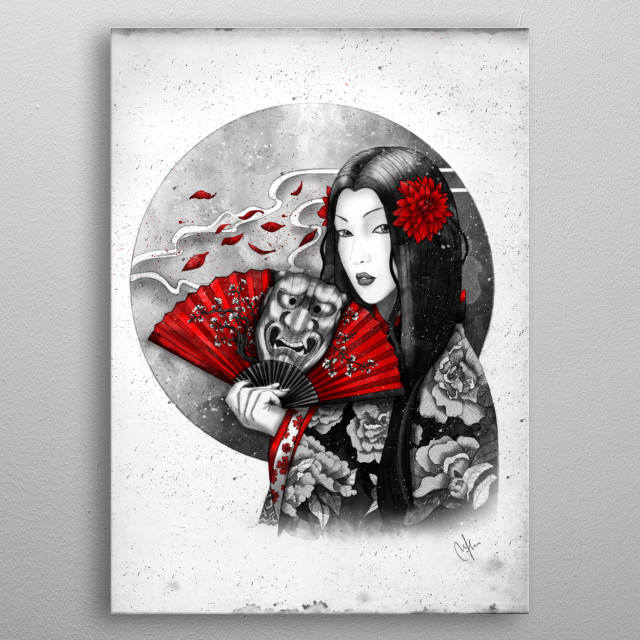Hikaru metal poster