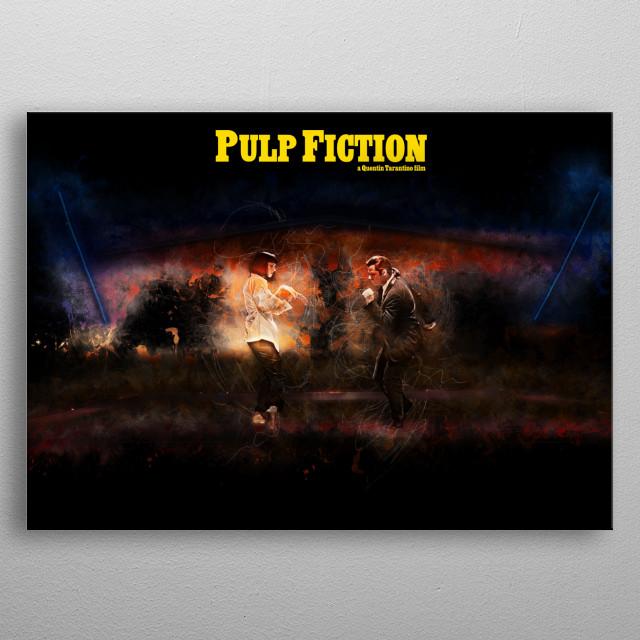 Pulp Fiction - Alternative Movie Poster metal poster