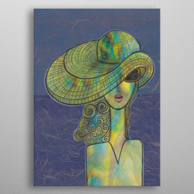 High-quality metal print from amazing Hats Color collection will bring unique style to your space and will show off your personality. metal poster