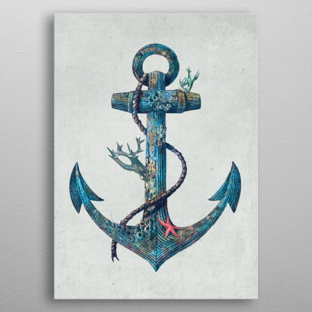 Lost at Sea metal poster