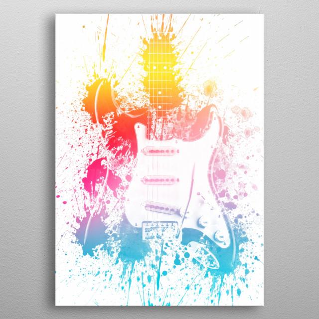 StratoColor metal poster