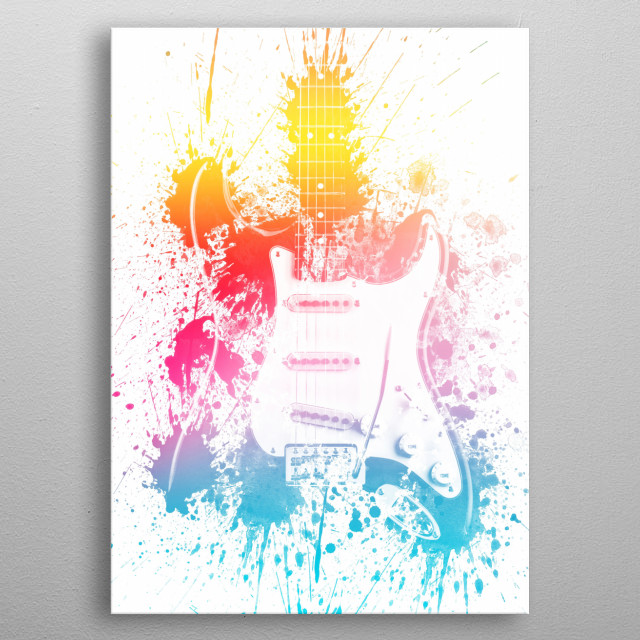 Fascinating metal poster designed by Renee ar. Displate has a unique signature and hologram on the back to add authenticity to each design. metal poster