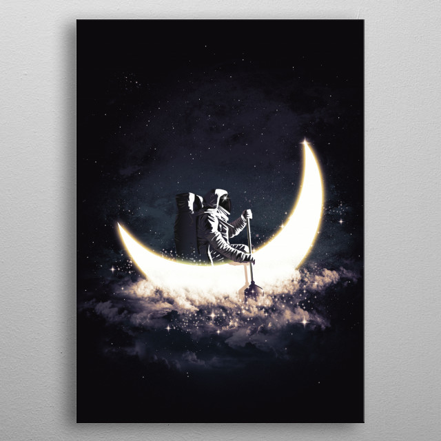 Fascinating  metal poster designed with love by danidngeroz. Decorate your space with this design & find daily inspiration in it. metal poster