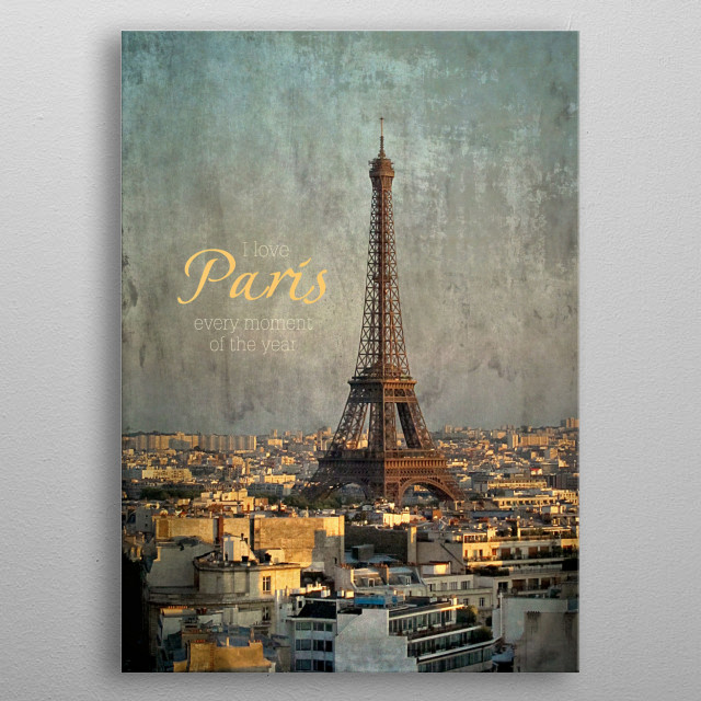 This marvelous metal poster designed by inou to add authenticity to your place. Display your passion to the whole world. metal poster