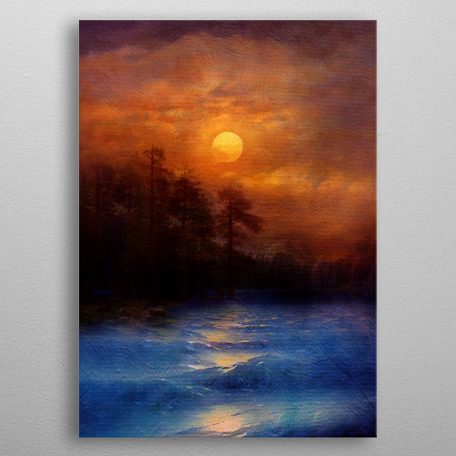 High-quality metal wall art meticulously designed by vivianagonzalez74 would bring extraordinary style to your room. Hang it & enjoy. metal poster
