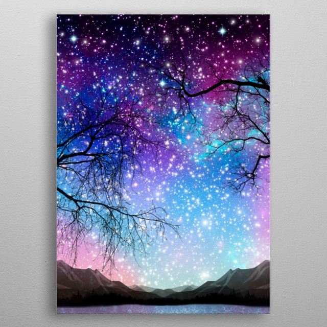 Fascinating  metal poster designed with love by nikalim. Decorate your space with this design & find daily inspiration in it. metal poster